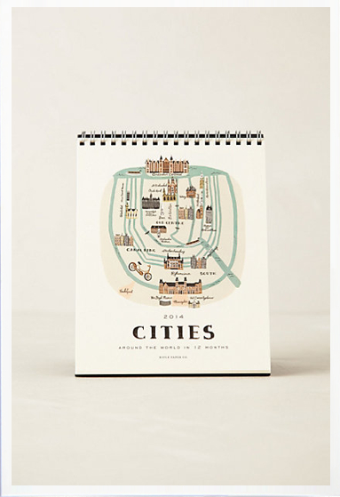 Anthro cities calendar