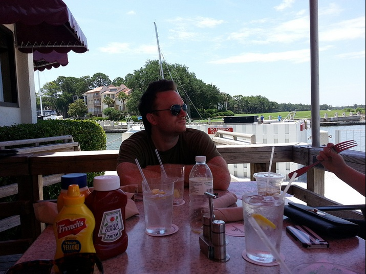 Clark at Quarterdeck