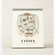 Anthropologie Cities Calendar