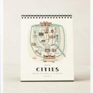 Anthropologie Cities Calendar