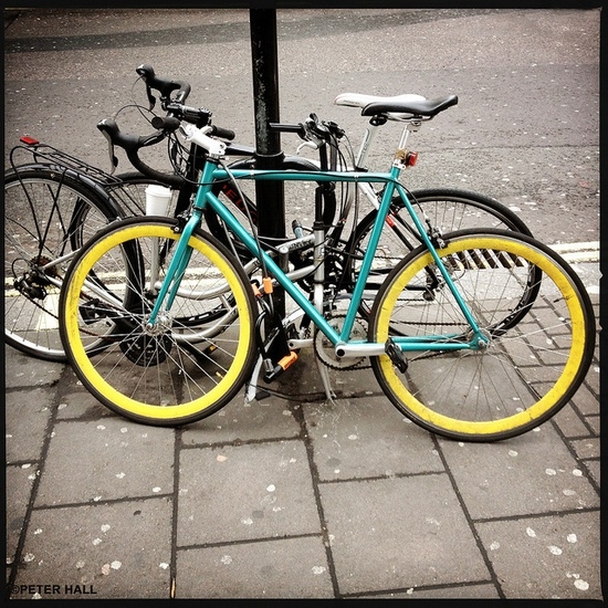 Peter Hall bicycle